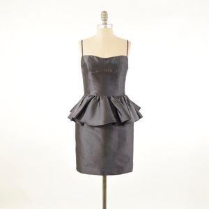 0d89461ff3b Chloe   Reese Silk Peplum Cocktail Dress